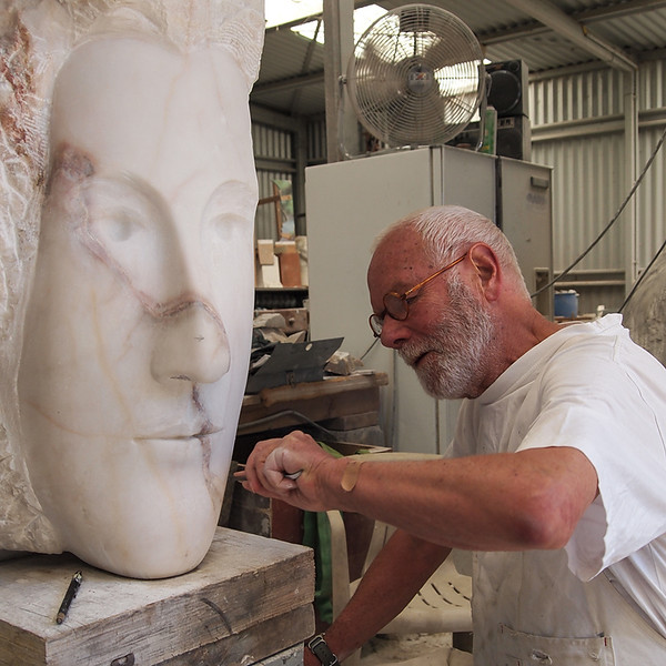 Clive Murray-White at work
