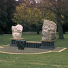 Lars Compitalis<br /> <br /> Chillagoe marble, Gosford sandstone, steel. 1999<br /> <br /> Commissioned by Loy Yang Power and Monash University with assistance from the Australia Council, a gift to the people of the La Trobe Shire