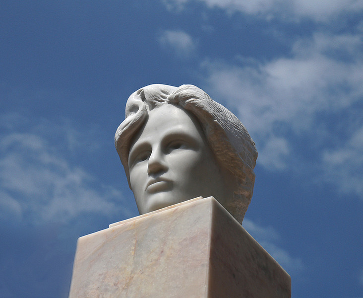 The Major Canberra Artwork - Walter Burley Griffin & Marion Mahony (detail of first maquette))<br /> <br /> Chillagoe marble - for ACT Government 2008