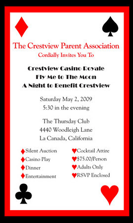 Crestview Casino Royale invite