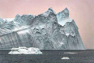 Majestic iceberg in Ilulissat Icefjord