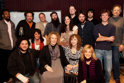 """XPN """"Home For The Holidays"""" recording session"""