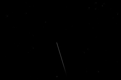 Staying close to home...  International Space Station flies over Barrhaven
