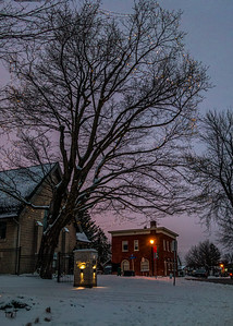 Staying close to home...  Manotick in Winter, first photos of 2021