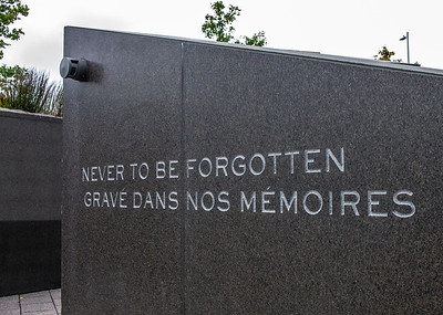 Canadian Firefighters Memorial in Ottawa