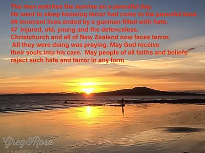 RIP the Lost Muslim people in Christchurch