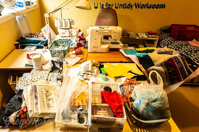 U is for Untidy