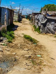 Khayelitsha Township outside Cape Town
