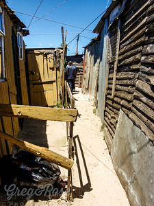 K is for Khayelitsha an African township near Cape Town