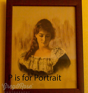 P is for Portrait