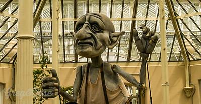 Monster at Kew Gardens London