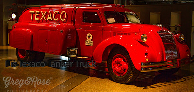 This Is Texaco Tanker Truck