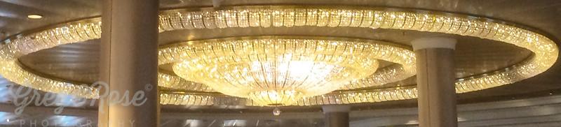 L is for Large Luminous Light Fixture