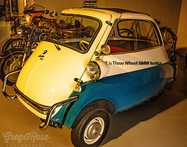T is for a Three wheeled BMW Isetta
