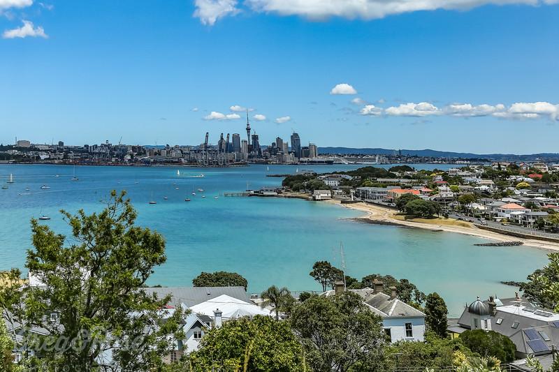 CBD Auckland and Devonport