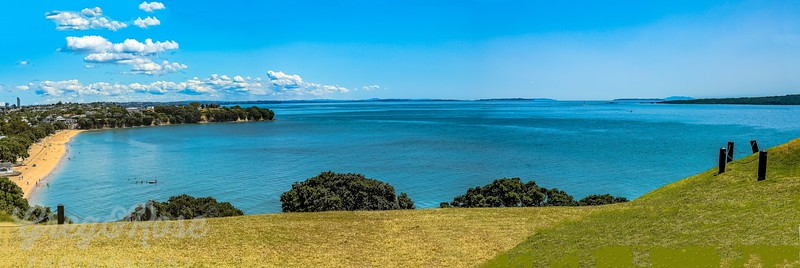 Cheltenham Beach and Northern Hauraki Gulf