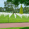The Crosses represent so many Ameican young men who died at Omaha Baech