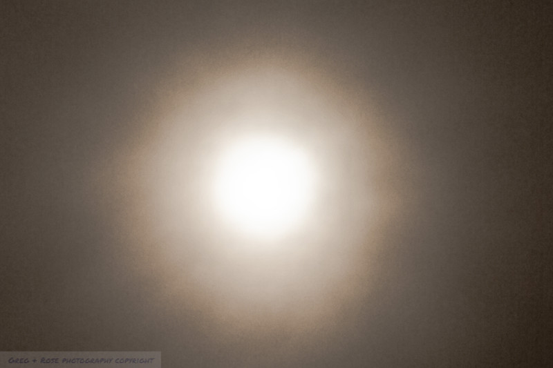 Sun through the Rain Clouds