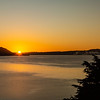 Sunrise at Lake Rotorua