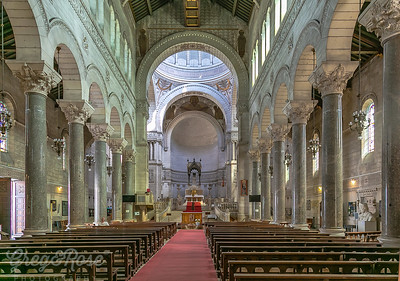 Interior of the Basilique Saint Martin
