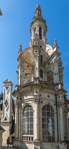 The Central Tower of Chateau de Chambord