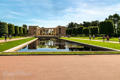 US War Memorial, Normandy American Cemetery, Colleville-sur-Mer, France