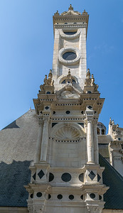 A Tower of Chateau Chambord