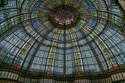 The Famous Cupola of Printemps Store