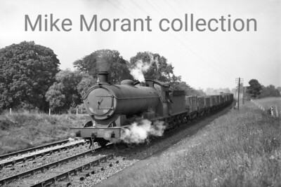LOCATION?????? An unidentified Raven Q6 class 0-8-0 no. 334? [Mike Morant collection]