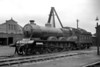 LNER former GCR Robinson designed B4/3 class 4-6-0 no. 6104 at Tuxford mpd on 1/5/1938. Built at the GCR's Gorton Works 6104 entered service in July 1906 and was withdrawn at Lincoln shed on 4/7/47.<br> [<i>Mike Morant collection</i>]