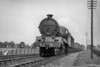 LNER former GCR Robinson designed B7 class 4-6-0 no. 5073 near Rugby Central on 3/8/1937. Built at the GCR's Gorton Works 5073 entered service in June 1921. The LNER's 1946 renumbering saw 5073 with the new identity 1361 on 21/8/46 and this engine did survive into the BR era being withdrawn at Sheffield Darnall mpd on 4/3/49.<br> [<i>Mike Morant collection</i>]