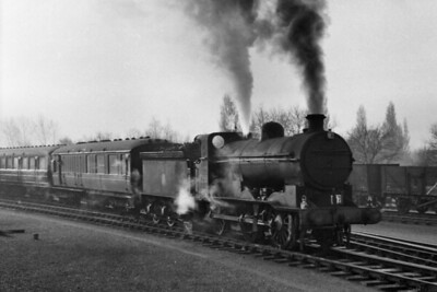 Ivatt J6 class 0-6-0 no. 64250 at Boston in December 1953. 64250 was Boston allocated at the time and would remain there until withdrawal in October 1959. [Mike Morant collection]