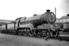 LNER former GCR Robinson designed B2 class 4-6-0 no. 5424 <i>City of Lincoln</i> at its home shed of Lincoln (GN) on 1/5/1938. Built at the GCR's Gorton Works, 5424 entered service in January 1913. This class was never an operational success and 5424 was withdrawn at Immingham shed on 1/12/45.<br> [<i>Mike Morant collection</i>]