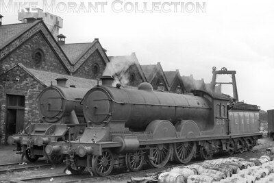 Former NER, Wilson Worsdell designed C6 class 4-4-2 no. 295 at St. Margaret's shed, Edinburgh on 20/6/1937. No. 295 was of 1904 vinatge and would be withdrawn in March 1944. [H. C. Casserley / Mike Morant collection]