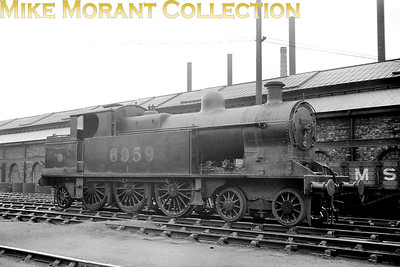 LMSR, Bowen Cooke designed 4-6-2T no. 6959 at Crewe on 14/2/1937. 6959 would be withdrawn in the following March. [Mike Morant collection]