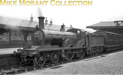 LMSR, former G&SWR Smellie designed '153' class 4-4-0 no. 14141 at Kilmarnock in 1927. [Mike Morant collection]