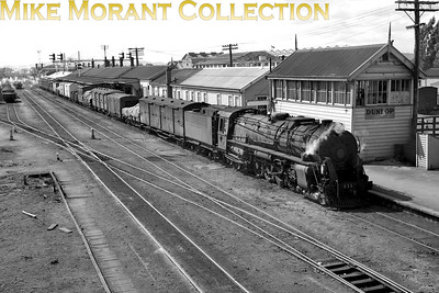 New Zealand Government Railways K class 4-8-4 no. 911 No data available for this shot. [Mike Morant collection}