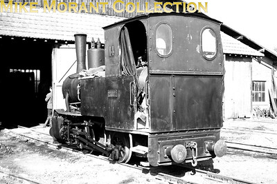 70 cm narrow gauge French industrial 0-4-0T no. 14 was built by Orenstein & Koppel in 1925 with works no. 1162 and was photographed on 21-10-67 on Les carrières de gypse des Ciments Lambert at Cormeilles in the Départment de Seine-et-Oise north-west of Paris. [Mike Morant collection]