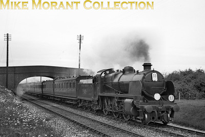 Southern Railway, Maunsell 'N' class mogul no. 1411 heading a special from London to Hastings via Redhill and Tonbridge at Smarden on 6/6/1938. [J. H. Venn / Mike Morant collection]