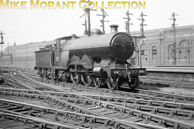 LBSCR Marsh designed H1 class Atlantic no. 37 at Brighton. Built by Kitson in December 1905 , no. 37 would be withdrawn as BR no. 32037 Selsey Bill at Bricklayers Arms (but stored at New Cross Gate) in July 1951. [Mike Morant collection]
