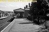 A panoramic view at Maesteg Castle Street station taken in 1956 and which would be closed on 15/7/1970 by BR.<br> [<i>Mike Morant collection</i>]