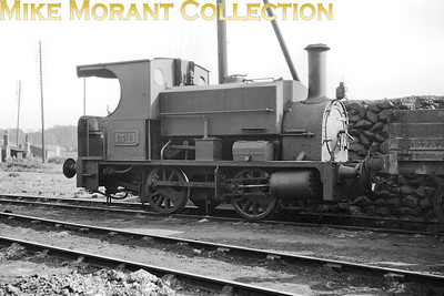 GWR 0-4-0ST no. 1341 at Radyr shed on 28/5/1929. The Great Western Archive informs us that 1341 was absorbed into GWR stock from the Alexandra (Newport and South Wales) Docks and Railway and was originally named ALEXANDRA but had no allocated number. Furthermore, the build date and builder's name are unknown but it is known that ALEXANDRA was purchased from Messrs. Dunn & Shute in April 1903 when work at the Town Dock, hitherto done by these contractors, was undertaken by the company. [Mike Morant collection]