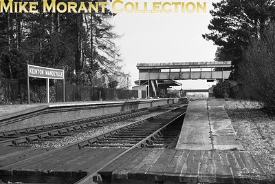 Keinton Mandeville station photographed on 17/3/62. [C. L. Caddy / Mike Morant collection]