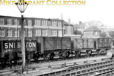 Private Owner wagons at Hove in late 1923. [Mike Morant collection]