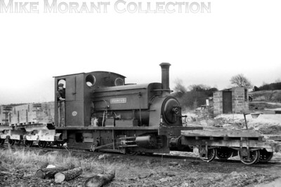 "The Furzebrook Railway, also known as the Pike Brothers' Tramway, was a narrow gauge industrial railway on the Isle of Purbeck laid to a gauge of 2' 8"" which transported unique clay from the mine close to what is today called Norden on the heritage Sweanage Railway. The loco depicted here and taken on 21/1/56 is 0-4-0ST Quintus which was built by Manning Wardle in 1914 with works no. 1854 and would be scrapped in 1958 some two years after it was last steamed and a year after the railway closed. [H. C. Casserley / Mike Morant collection]"