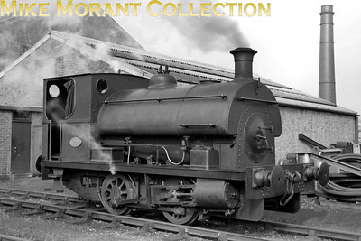 Vickers Armstrong Peckett 1758/1929 0-4-0ST photographed at Crayford in 1958. [Mike Morant collection]