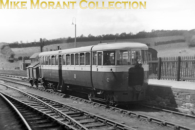 Great Northern Railway (Ireland) railcar 'C' of 1935 vintage which continued in GNR service until the 1960's. No date or location known for this shot. [Mike Morant collection]