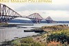The Forth railway bridge taken from North Queensferry at the end of August 1964.<br> [<i>Slide taken by Mike Morant</i>]