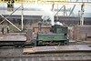 Doxford Shipyard (Sunderland) 0-4-0 crane tank <i>Pallion</i> was built by Hawthorn Leslie (2517/1902) and is depicted here minus its jib in October 1964.<br> [<i>Mike Morant collection</i>]