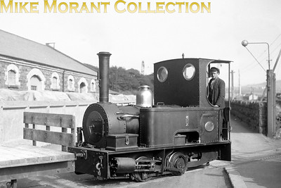 British Aluminium Co. Ltd. 3' gauge Peckett 0-4-0ST no. 1 was built in 1902 with works no. 1026. and is shoen here at the BAc's premoises in Larne during August 1936. No. 1 was withdrawn in 1969 and is currently (July 2017) kept at the Giant's Causeway and Bushmills Railway, Northern Ireland. [Mike Morant collection]